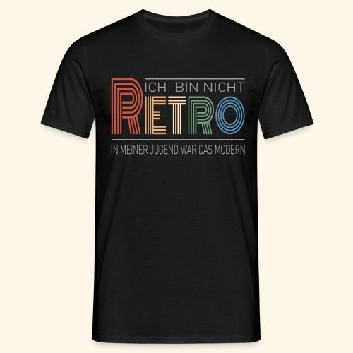 Ich bin nicht Retro Geschenk Geburtstag vintage - Männer T-Shirt