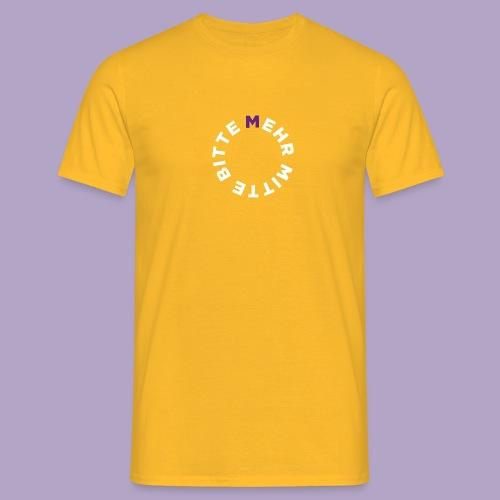 Mehr Mitte Bitte | Julius Raab Stiftung - Männer T-Shirt