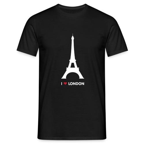 I love London - Mannen T-shirt