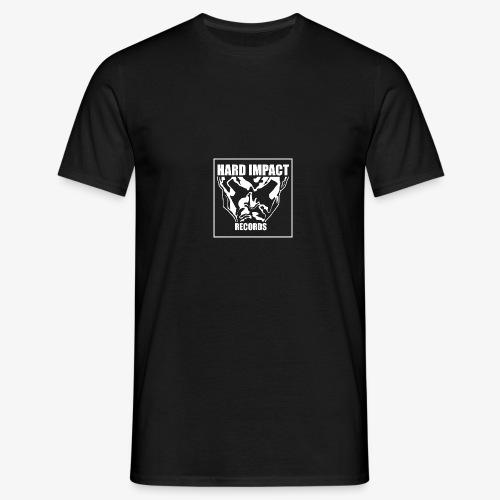 Hard Impact Records - Maglietta da uomo