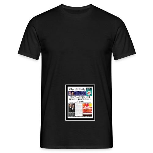fgh - Men's T-Shirt