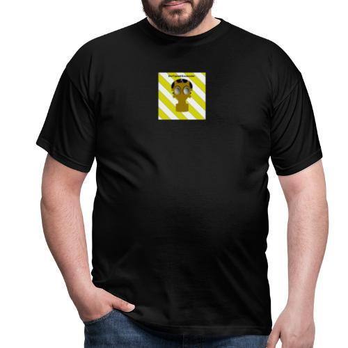 Gasmasken Logo 1 - Männer T-Shirt