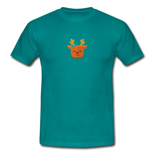 When Deers Smile by EmilyLife® - Men's T-Shirt
