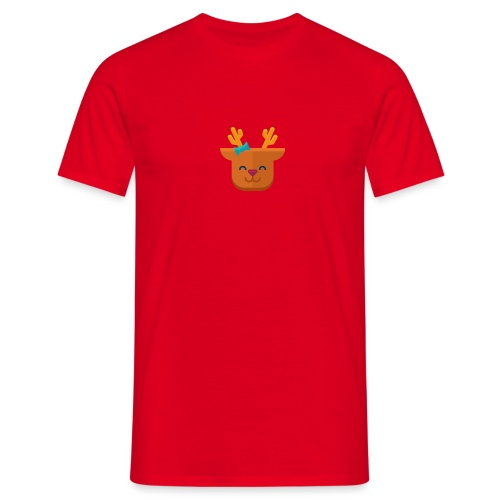 When Deers Smile by EmilyLife® - Men's T-Shirt