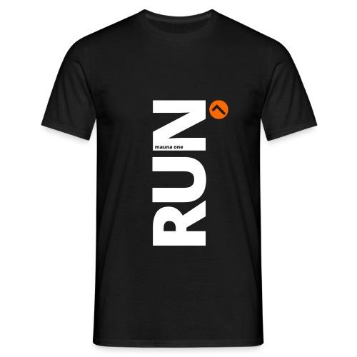RUN mauna one orange, Geschnekidee, Geschenk - Männer T-Shirt