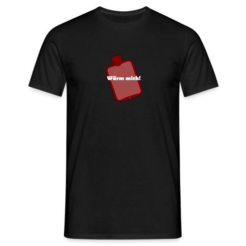 Wärmflasche - Männer T-Shirt