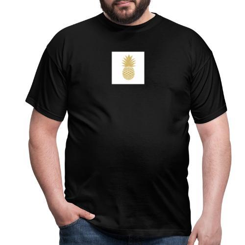 T-shirt avec ananas sur le côté - T-shirt Homme
