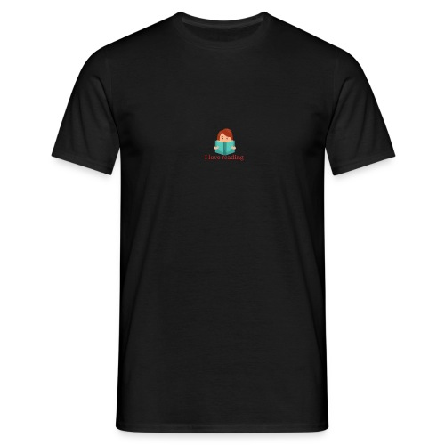 I love reading Books - Männer T-Shirt