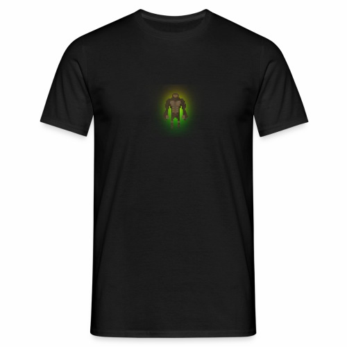 1980's Bigfoot Glow Design - Men's T-Shirt