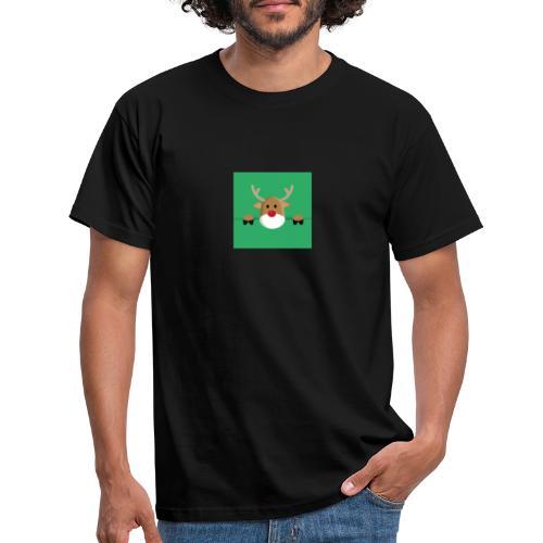 Rudolf the red nosed reindeer - Männer T-Shirt