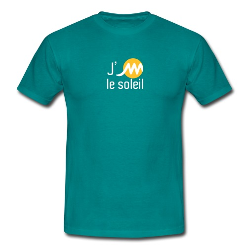 jMsoleilblancjaune - T-shirt Homme
