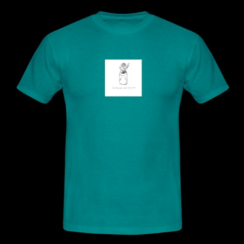 l'amour est mort - T-shirt Homme