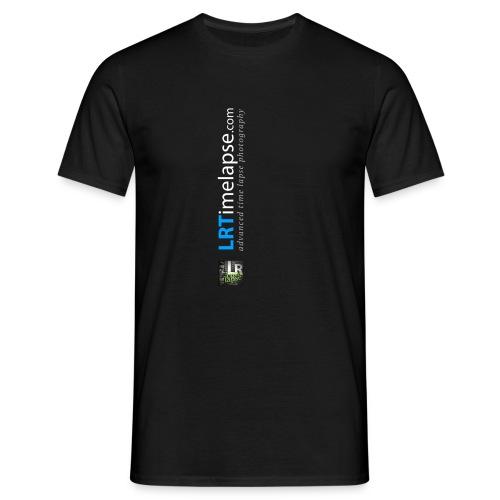 LRTImelapse Shirt Logo Vorne Hoch breiter3 png - Männer T-Shirt