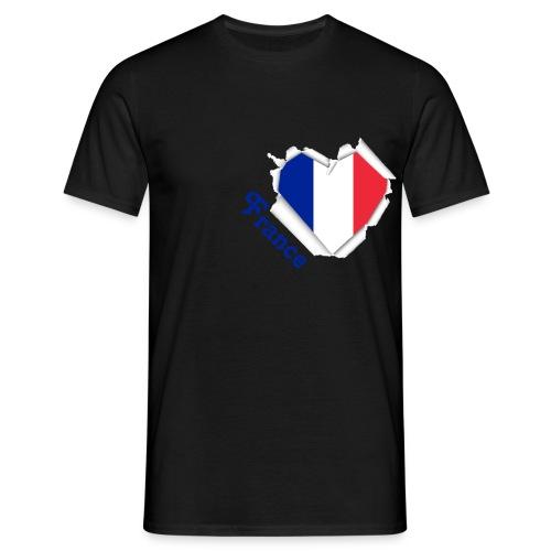 Frankreich - Männer T-Shirt