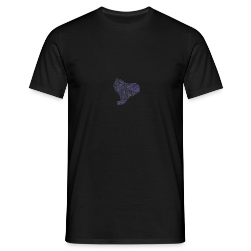 Cuor di Tartaruga Cuore Armato - Maglietta da uomo