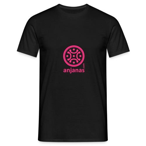 anjanas rosa - Camiseta hombre