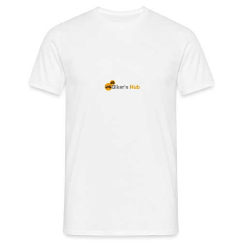 Biker's Hub Small Logo - Men's T-Shirt