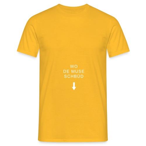 mundart wodemuseschbued - Männer T-Shirt