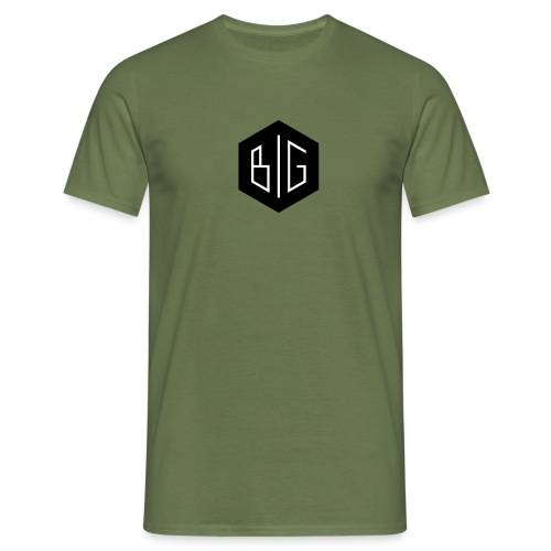 BiG logo grand svg - T-shirt Homme