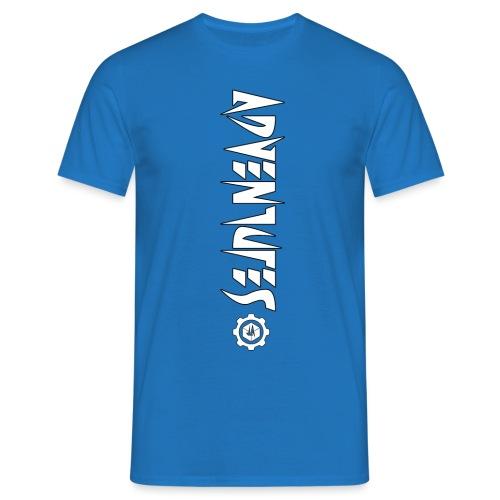 Jebus Adventures Vertical Stripe - Men's T-Shirt