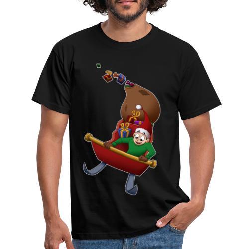 Davincstyle slee achtbaan - Mannen T-shirt