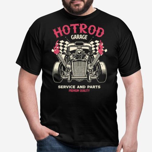 hotrod vintage cars - Männer T-Shirt