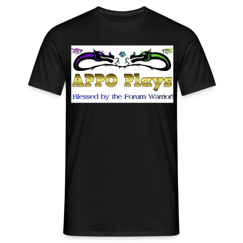 Appo Plays Dragon King - Men's T-Shirt