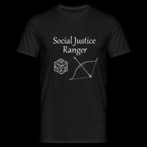 Social Justice Ranger - Men's T-Shirt