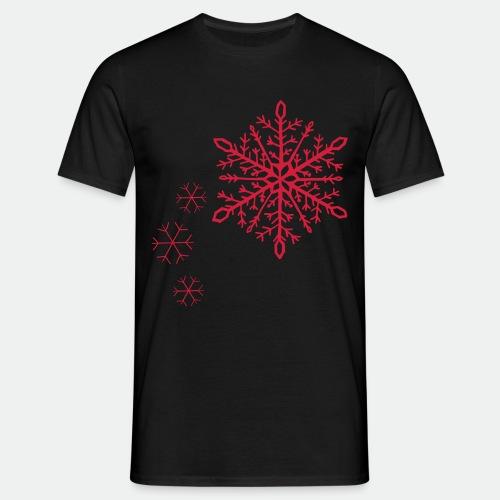 Snowflakes arc - Men's T-Shirt