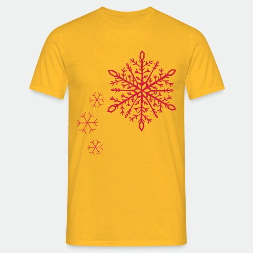 Snowflakes arc - Men's T-Shirt