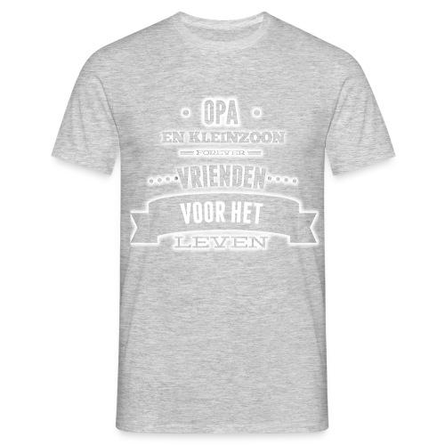 Opa en kleinzoon vrienden voor het leven vaderdag - Mannen T-shirt