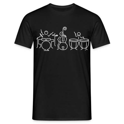 Drummer bassist timpanist - Men's T-Shirt