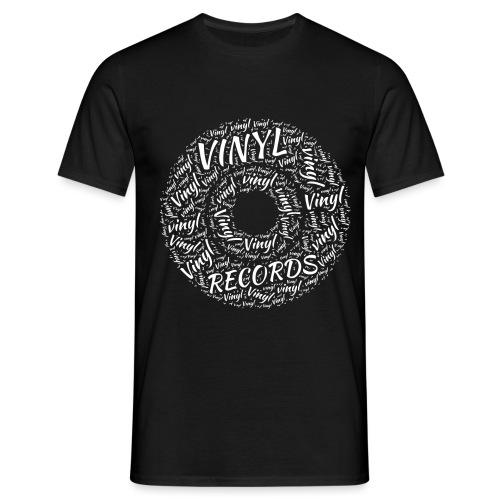 Vinyl Records - Men's T-Shirt