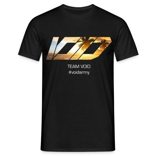 VoiD summer mit schrift weis png - Männer T-Shirt