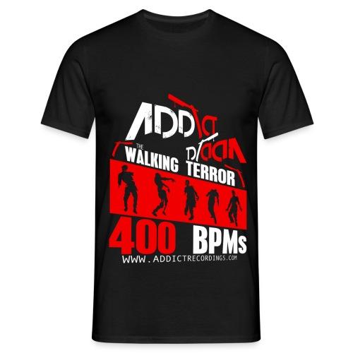 Addict Recordings Walking - Men's T-Shirt