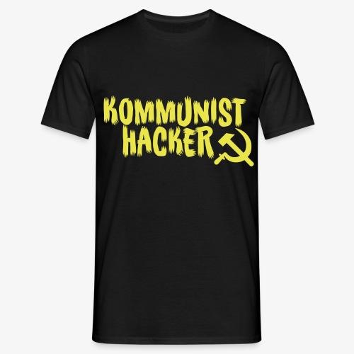 Kommunist Hacker - Herre-T-shirt