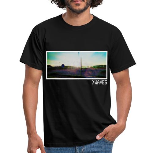 Picture Waves White Border - T-shirt Homme