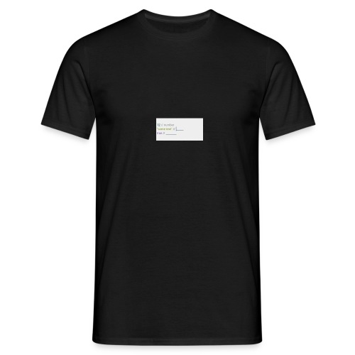 code - T-shirt Homme