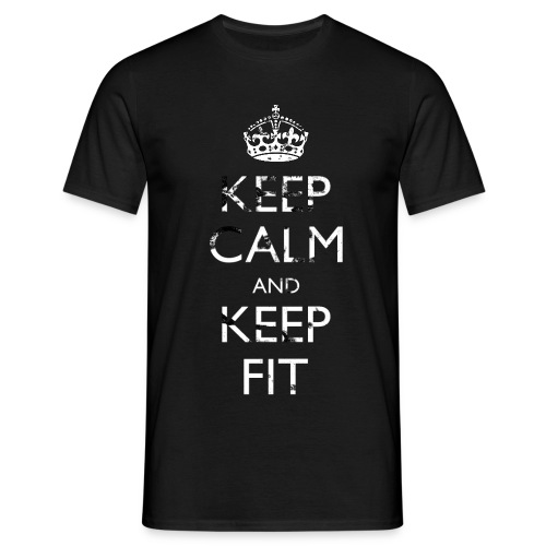 keep calm and keep fit threshold copy - Men's T-Shirt