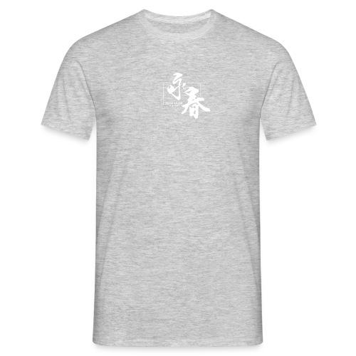 WINGCHUNlugo_logo_white_s - Maglietta da uomo