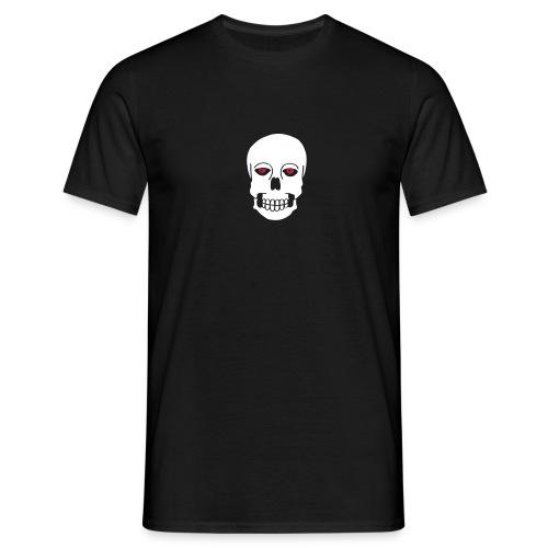 Schädel Skulls Augen Eyes Death Tod Horror Tattoo - Männer T-Shirt