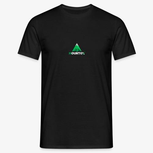 Mountox White - Mannen T-shirt