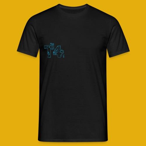 T4 Blue White - Men's T-Shirt