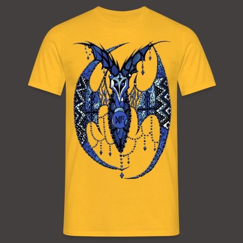 Chauve Souris Dentelle Bleue - T-shirt Homme