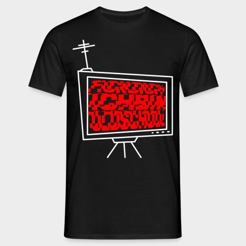 Fdibo red - Männer T-Shirt