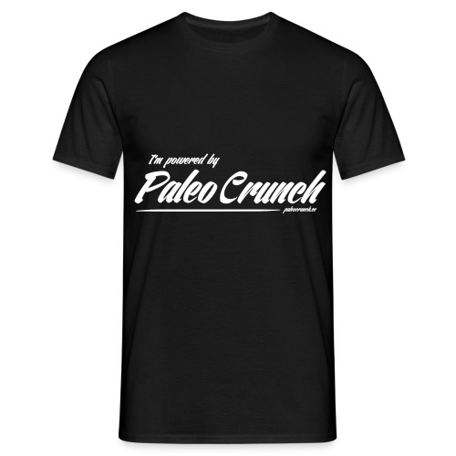 Powered by paleo crunch png - T-shirt herr