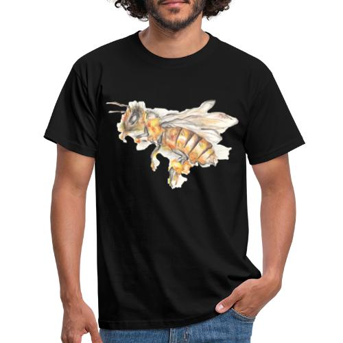 MG002 Bee | Honey | Save the Bees | Books bee - Men's T-Shirt