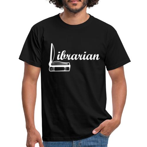 0325 Librarian Librarian Cool design - Men's T-Shirt