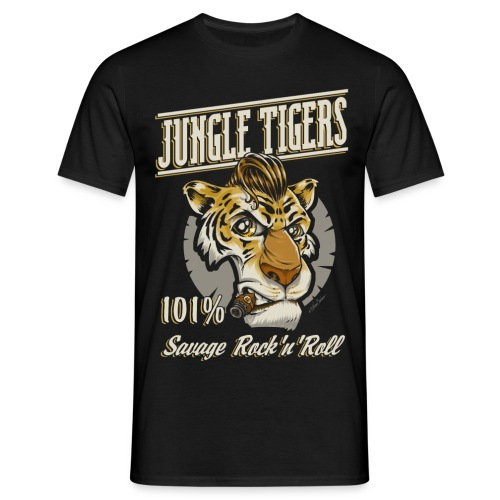 tiger unido - Men's T-Shirt