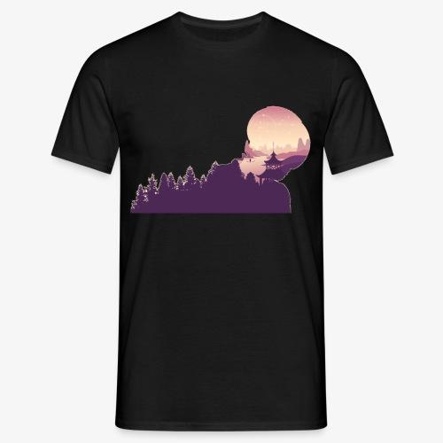 nebula - Maglietta da uomo
